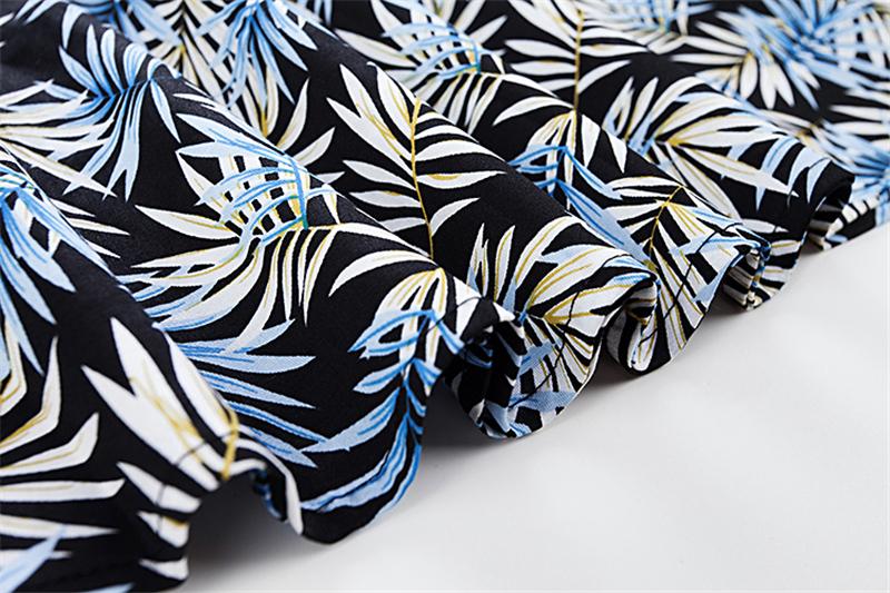 Kostlish Elegant Print Women Summer Dress Sleeveless Cotton Hepburn 50s 60s Vintage Dress With Belt Casual A-Line Ladies Dresses (27)