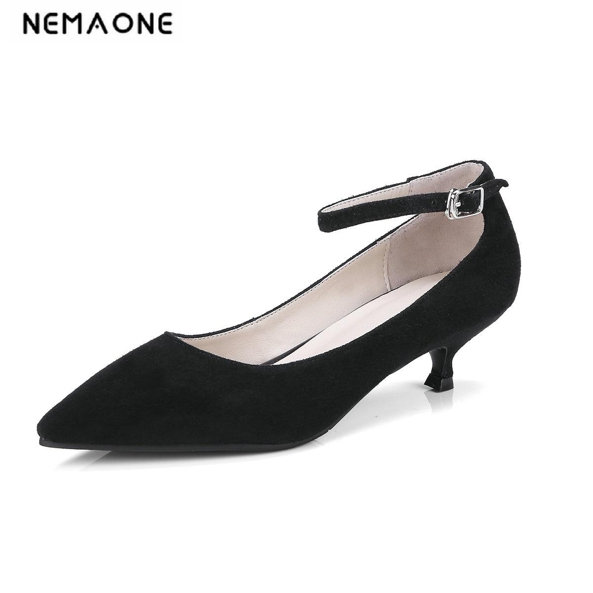 Здесь можно купить  NEMAONE 2019 new Suede leather Women