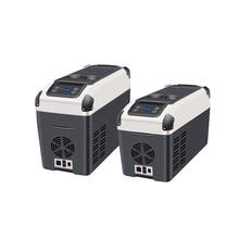 Car Refrigerator 16L Capacity Portable Cooler Warmer Truck Electric Fridge For Travel RV Mini Car Home Use DC12V/24V RY-YT-E-16P