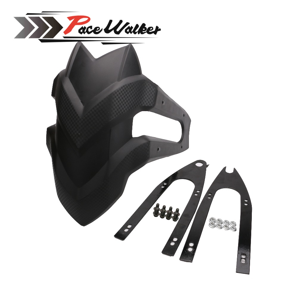 Hot Sale Black Motorcycle Rear Fender For kawasaki Z250 Honda CBF190R CB190R CBF190X CBF150 GW250 YBR125 rear tire fender