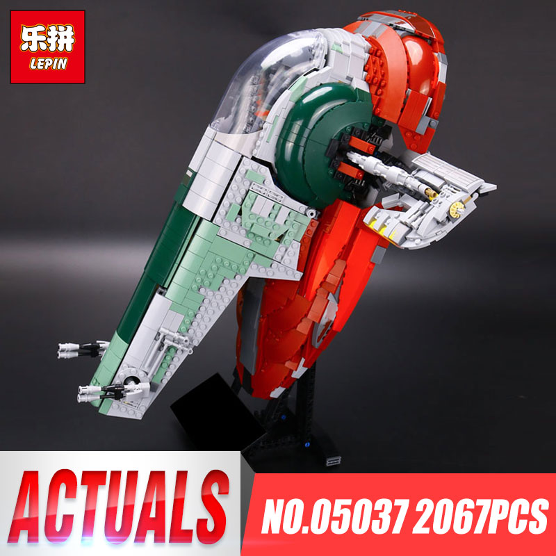 2067pcs NEW LEPIN 05037 Star Series Wars UCS Educational Children Kits NO.1 Model Building Block Bricks Lovely Toys Gift 75060 in stock lepin 05035 3803pcs genuine star wars death star educational building block bricks toys kits compatible with j35000