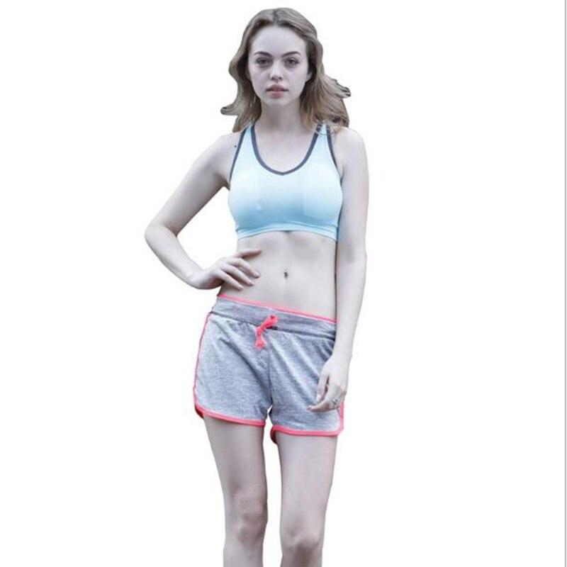 shorts women Hot Sale Drawstring Shorts Women Casual Loose Cotton Contrast Binding Side Split Elastic Waist Short Femme