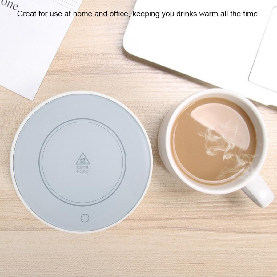 1 шт. 2 шт. подогреватель чашек коврик нагреватель для чая кофе молоко кружка для дома и офиса грелка