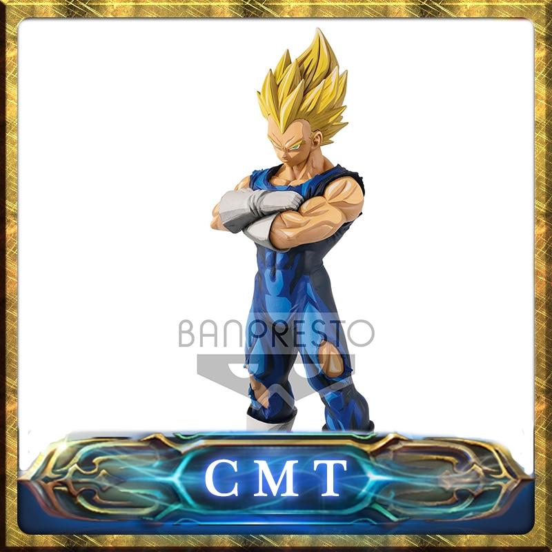 CMT Origianl BANPRESTO Dragon Ball Z Grandista Super Saiyan Vegeta Manga Dimensions (Overseas Limited) Anime PVC Toys Figure все цены