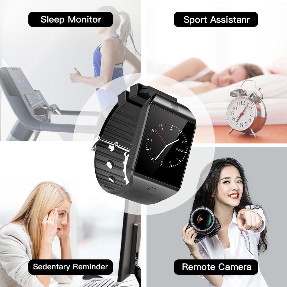 Cawono DZ09 Smart Watch Bluetooth Smartwatch Relogio TF Tarjeta con - Electrónica inteligente - foto 6