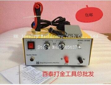 Haute puissance!! nouveau venir Bijoux Faisant Outils 80A Électrique Étincelle Soudeur Mini Spot Soudeur Bijoux Machine De Soudage