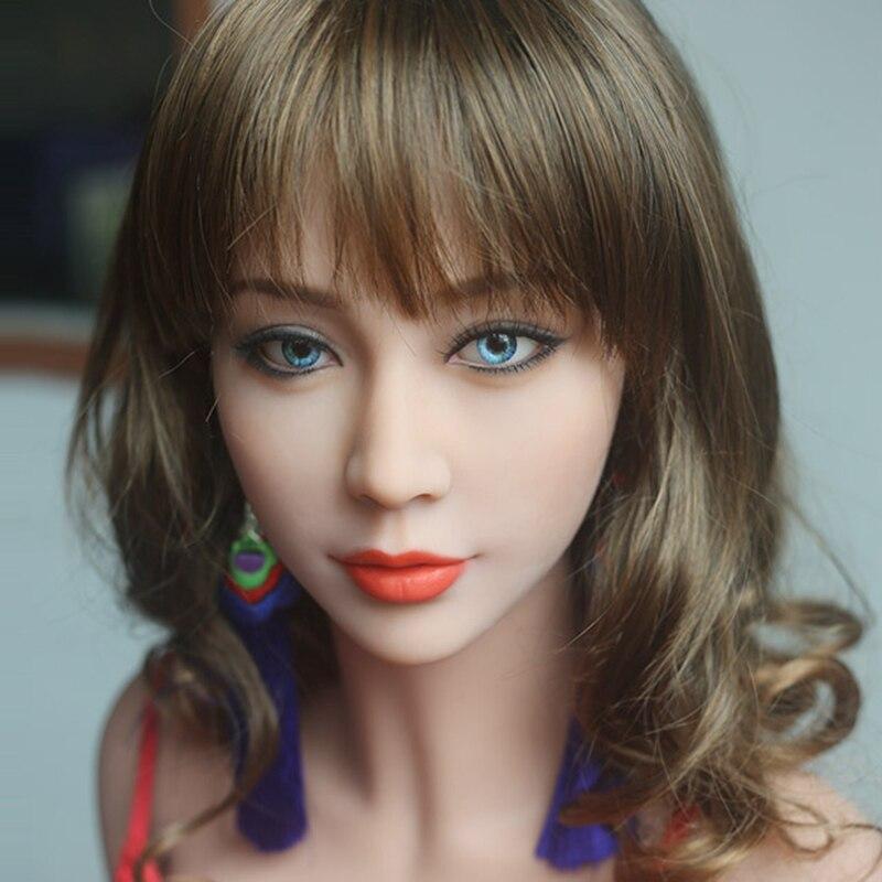 Настоящие секс куклы силиконовая головка для куклы реального размера, секс игрушки, секс продукт для мужчин