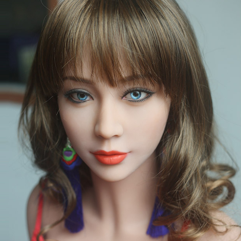 Real sex dolls silicone head for real size doll,  sex toys, sex product for menReal sex dolls silicone head for real size doll,  sex toys, sex product for men