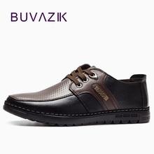 2018 Īstas ādas vīriešu ikdienas apavi Mokasīni mežģīnes-mīksta apakšā ērti pamata dzīvokļi apavi vīrieši roku darbs Zīmola dizains