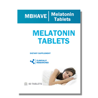 3 Bottles Melatonin 3MG Time Release 60 3 180 Pcs
