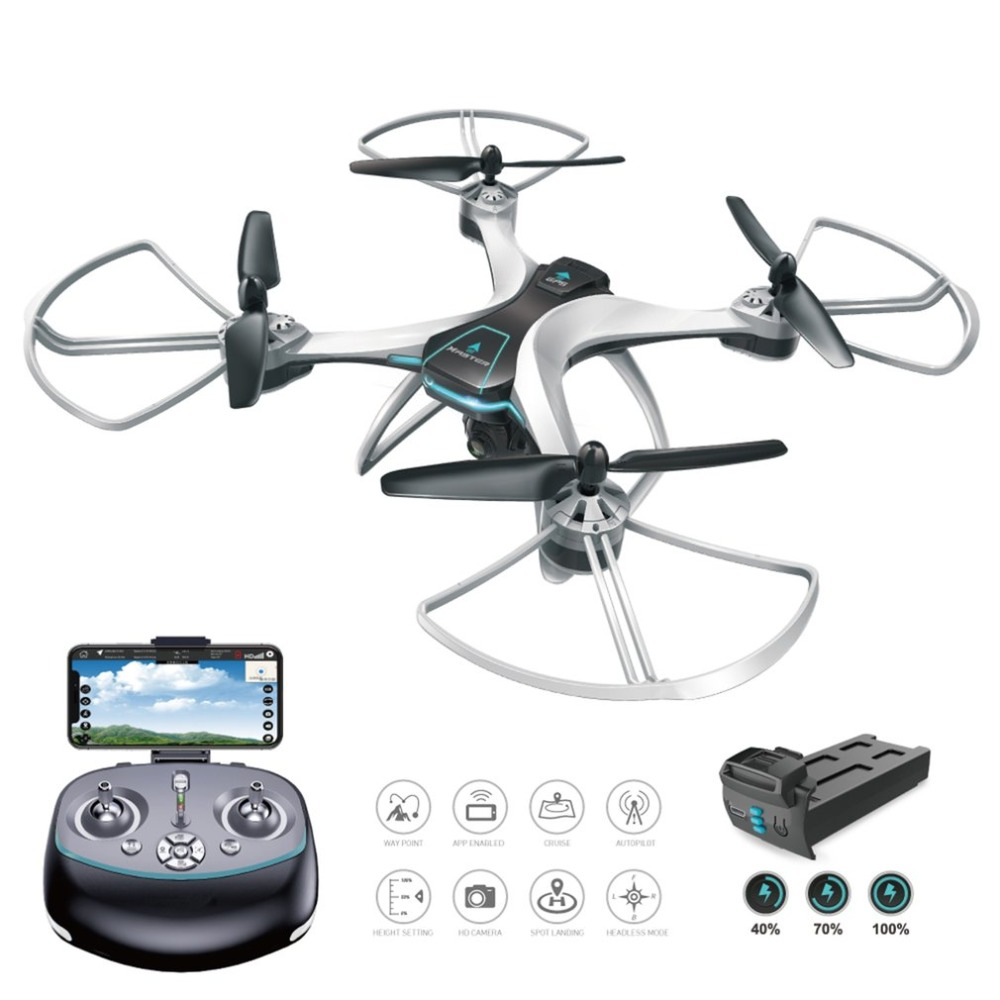 OCDAY RC FX-8G 6-axis WIFI FPV Drone With HD Camera Follow Me Onekey Return Altitude Hold Headless Mode GPS Quadcopter