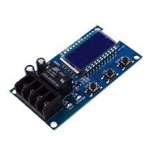 Placa de protección de controlador de carga de batería de litio 10A 6 60V pantalla Lcd circuito integrado protección de sobrecarga Control Modu