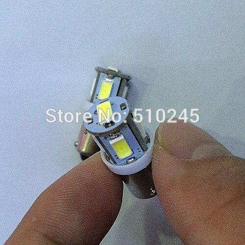 30x Free shipping Car Auto LED 5smd ba9S 5 led smd 5630 Wedge LED Light Bulb Lamp White