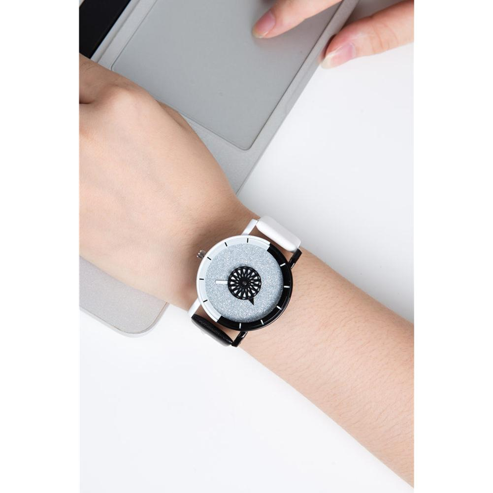 Men Women Wristwatches Couples Minimalist Style Cool Color Matching Quartz Watch Female Male Lovers Watches (without Chain)