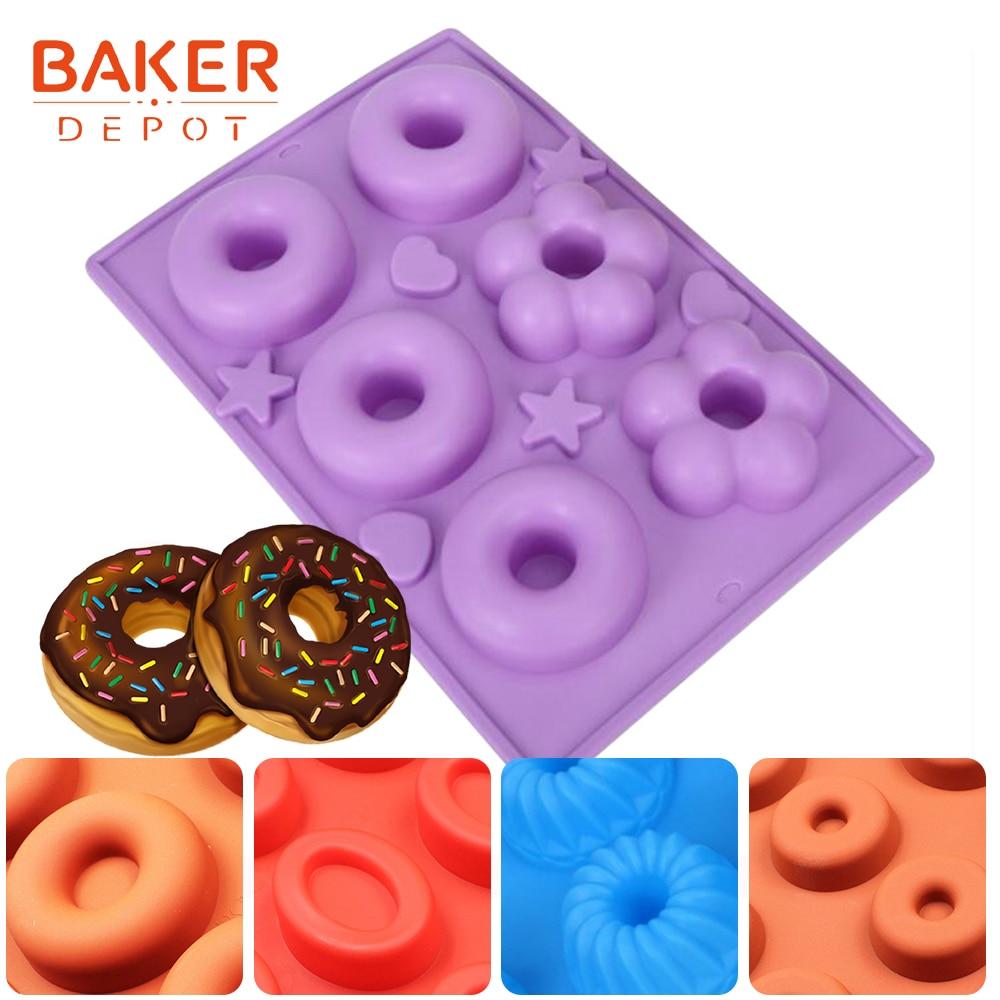 BAKER DEPOT силиконовый пішінді пішінді шоколадты печенье піскен сопақша печенье печенье пісіретін сабын помада помада табак пирожки