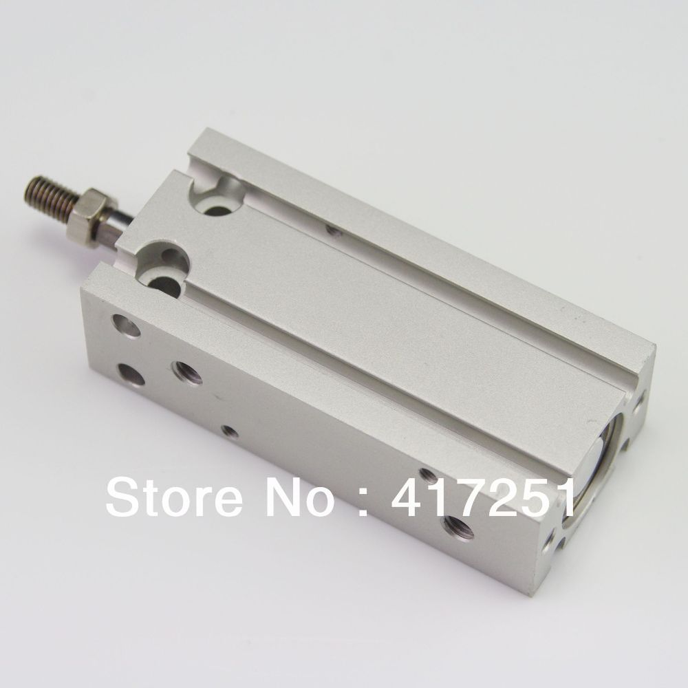 SMC Type Cylinder CDU16-10D Free Mount Double Acting Single Rod 16-10mm Accept custom smc free mounting cylinder cdu16 20d new original genuine