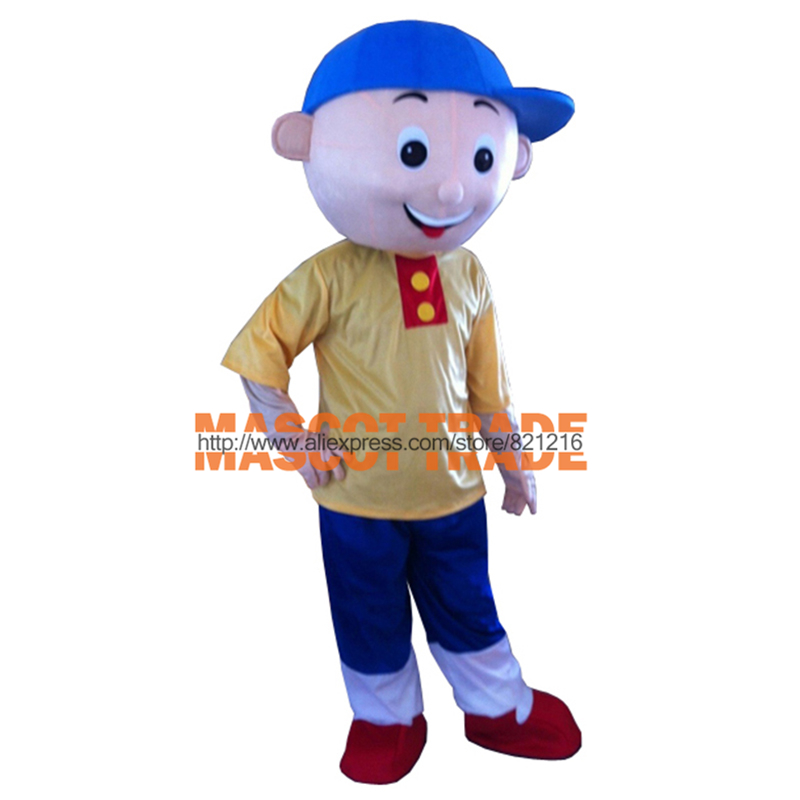 Caillou mascot costume adult size Caillou mascot costume for Halloween party event