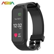 Умный Браслет Здоровья Динамический Шагомер Heart Rate Monitor Фитнес Браслет полноцветный TFT-LCD Экран Smartband Android-Телефон