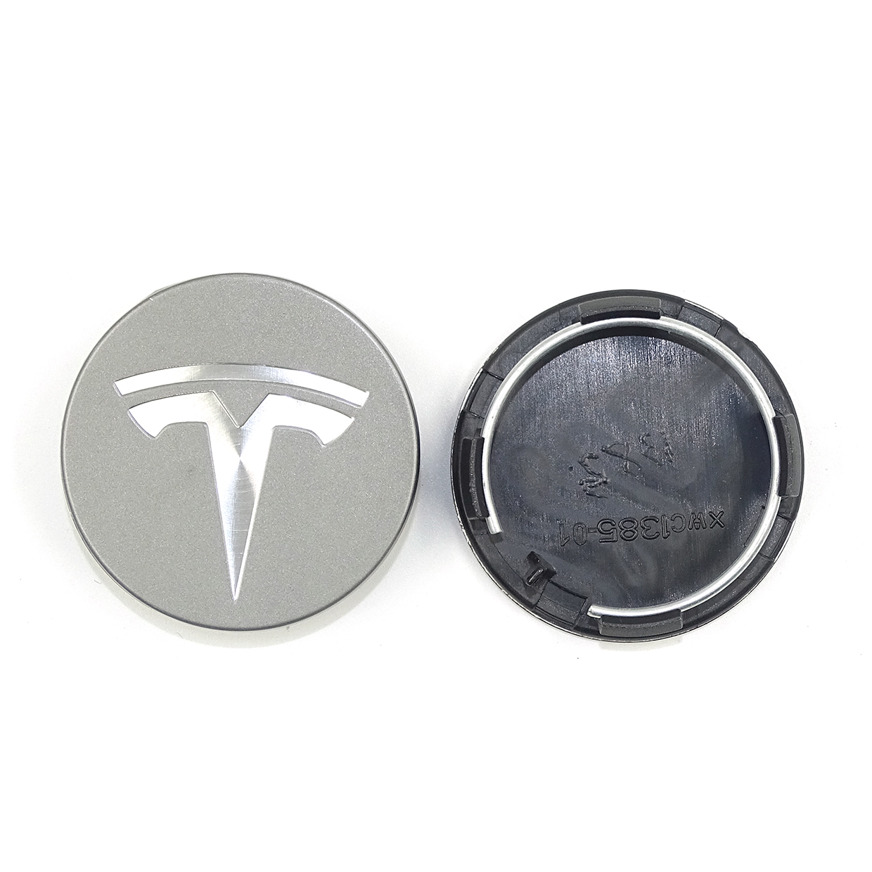 Image 4 - for TESLA MODEL X S 3 car styling XWC1385 01 Auto Accessories 56MM 58MM Badge Wheel Center cap cover emblem-in Wheel Center Caps from Automobiles & Motorcycles
