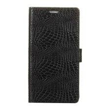 Для Xiaomi Редми coque 4 Премьер Телефон Случаях Крокодил Зерна Кожи Бумажника Стенд чехол для Xiomi Редми 4 Pro-черный