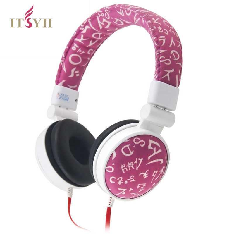 все цены на ITSYH headphone Deep Bass Noise Isolating Big Headphones 3.5mm Headband Earphones For Mp3  Computer Mobile Phone Earphone TW-188 онлайн