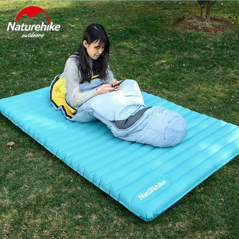 Naturehike-Camping-En-Plein-Air-Sac-De-Couchage-Gonflable-Ultra-Léger-Main-Type-de-Presse-Air (4)