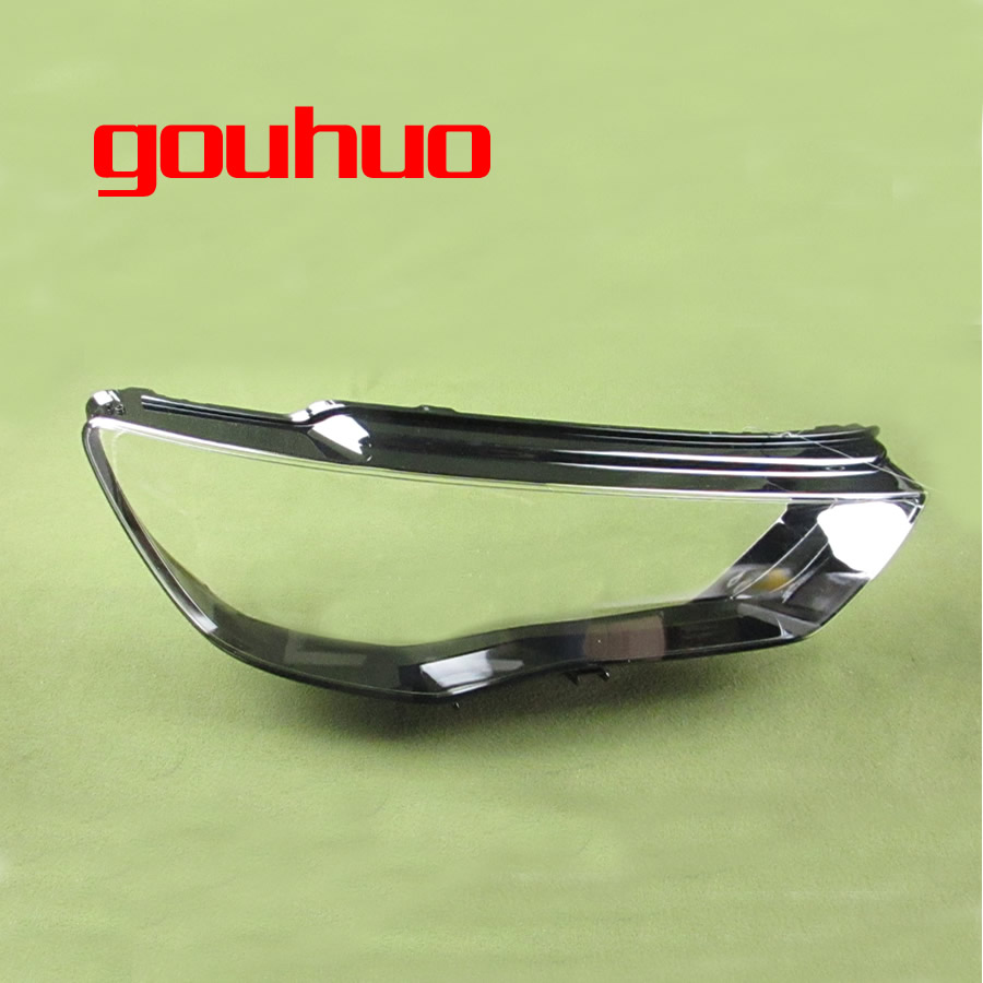 1pcs Headlight Cover Headlamp Shell Headhights Glass Lampshade Headlamp Lens For Audi A3 13 16