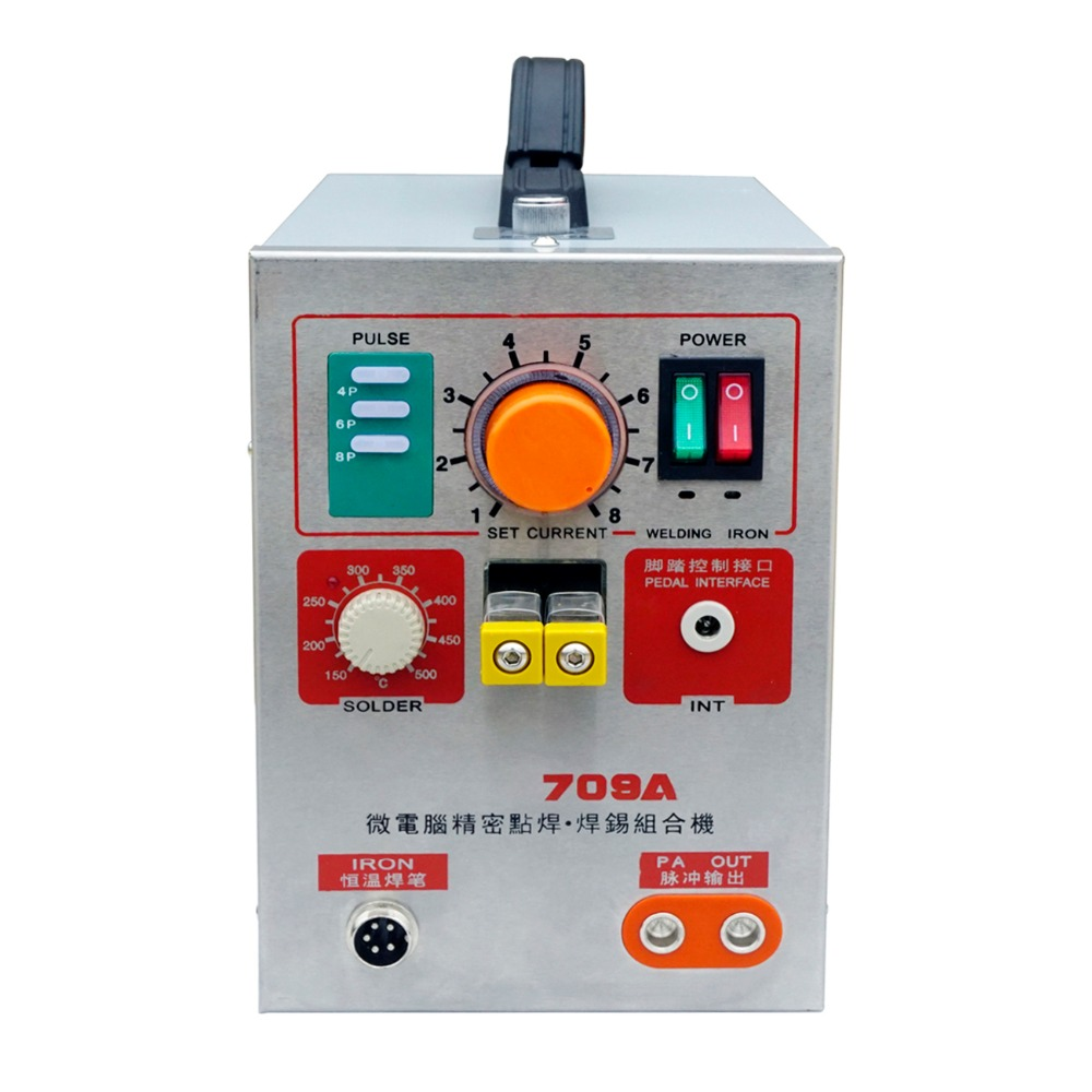 Spot Welder Kit 709A Battery Welding Soldering Machine with Pen Poste a Souder for Battery Soldering