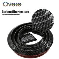 Overe 1Set Car Carbon Fiber Rear Spoiler Wing stickers For Hyundai Solaris I30 creta IX25 Suzuki Swift SX4 Lada Vesta Granta