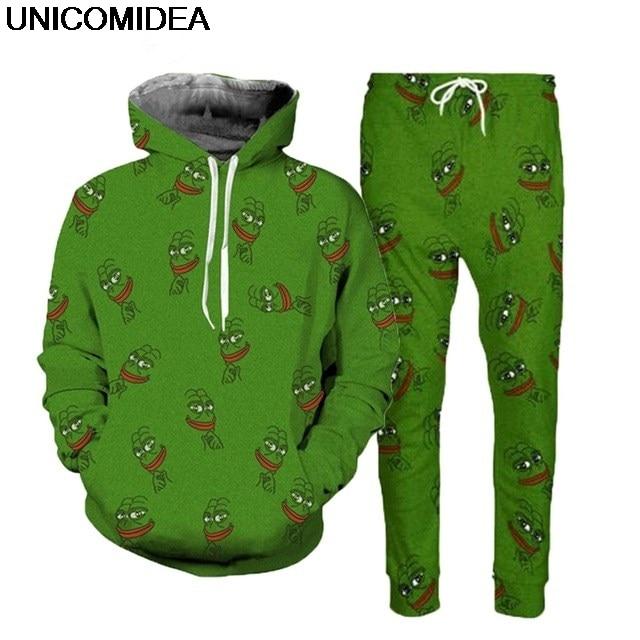 3d pepe frog mikiny obleky pánské mikiny mikina běžce kalhoty animal ... 0f47bca6810