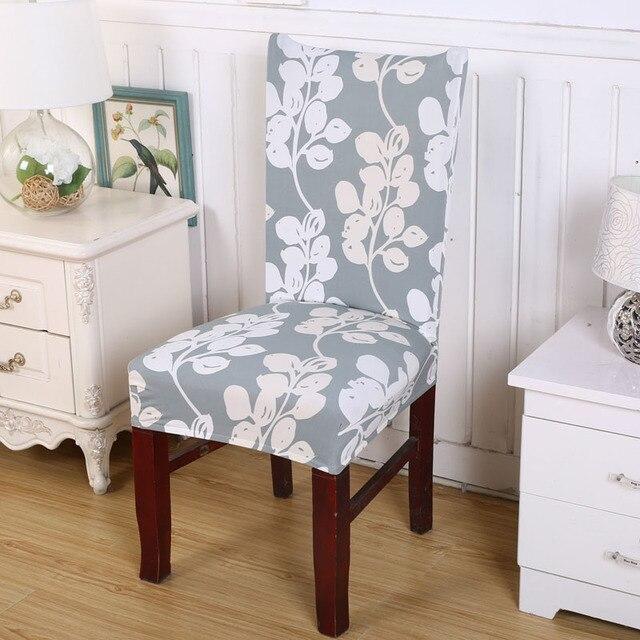 spandex nylon amovible elastique stretch housses court salle a manger chaise siege couverture maison restaraunt