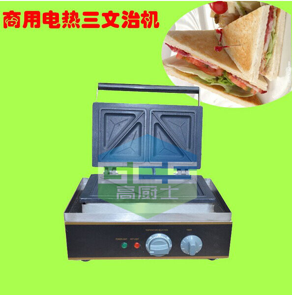 Free shipping Electric Sandwich maker Sandwich oven Sandwich pan Sandwich toaster bread toaster shipule commercial conveyor toaster bakery oven electric conveyor toaster bakery oven for free shipping