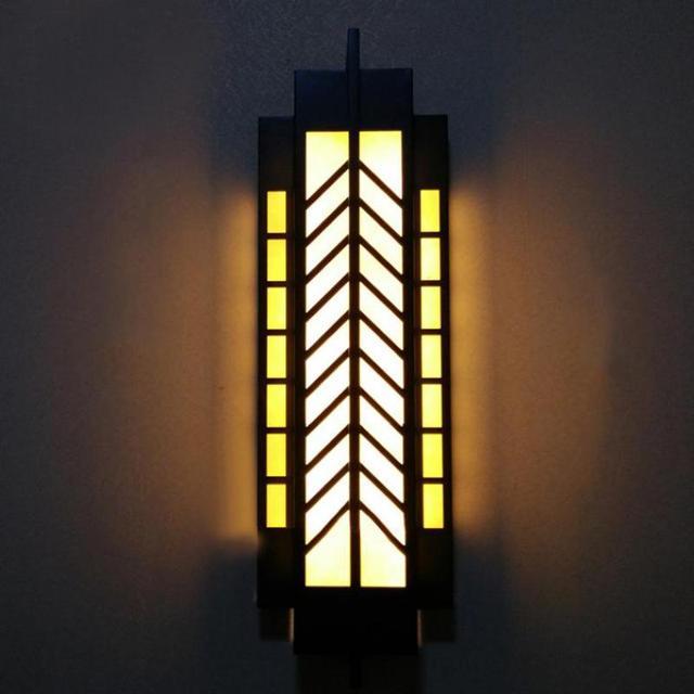 H100cm Vertical Commercial Lighting Gate Pillar Lights Yard Garden Wall  Sonce Led Facade Lighting Waterproof Outdoor