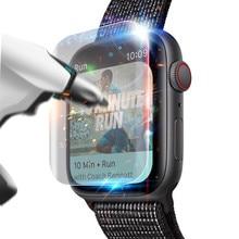 Взрывозащищенная защитная пленка из термополиуретана для Apple Watch Series 4(44 мм