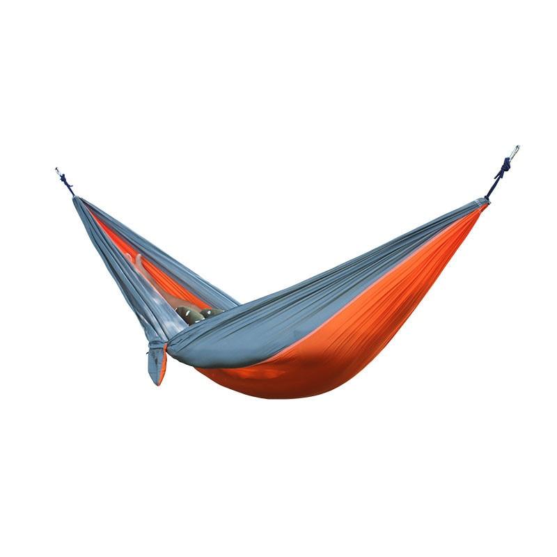 Outdoor Equipment Tools Camping 2 People Hammock Tent Garden Hunting Leisure Traveling Survival Hammocks  Lightweight Navy Blue