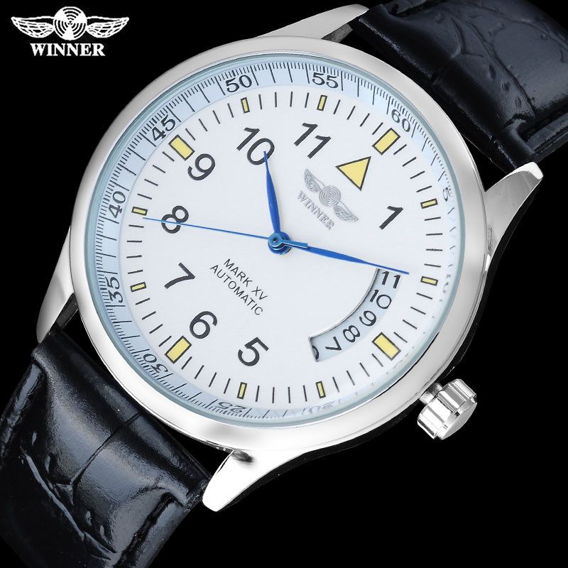 TWINNER fashion sport men mechanical watches leather strap casual brand hot sale mens automatic watches male clock montre homme