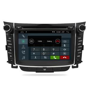 "Image 3 - 7 ""IPS Bildschirm Android 9.0 Auto DVD Radio Player Für Hyundai i30 Elantra GT 2012 2016 2 Din Video GPS Navigation Stereo Multimedia"