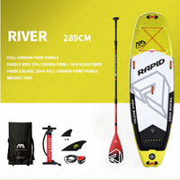 AQUA MARINA RAPID Surfboard SUP Surfing Board Inflatable Surfboard Stand Up Paddleboards SUP Board Paddle Board Surfing Stroke