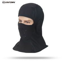 XINTOWN Winter Cycling Lycra Breathable Cap Headgear Hat Windproof Face Mask Bike Bicycle Cycling Skiing Fashing Skating Hat