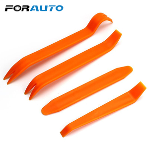 FORAUTO Car Panel Removal Tools Radio Audio Refit Universal ABS plastic Automobile Door Clip 4Pcs/Set Pry Refitting Sets Kit