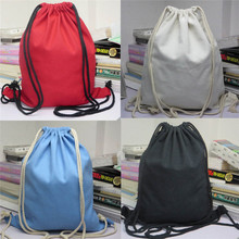 Jasmine Traveling Unisex Backpacks Solid  Bags Drawstring Backpack  Oct11