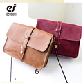 ecosusi Vintage Simple PU Leather Bag Handbag Candy Color Fashion Lady Ladies Shoulder Bag Women's Messenger Bags Tote