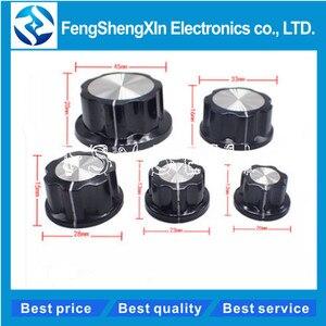 10pcs/lot MF-A01/A02/A03/A04/A05 Potentiometer knob bakelite potentiometer potentiometer knob cap diameter,inner bore:6mm(China)