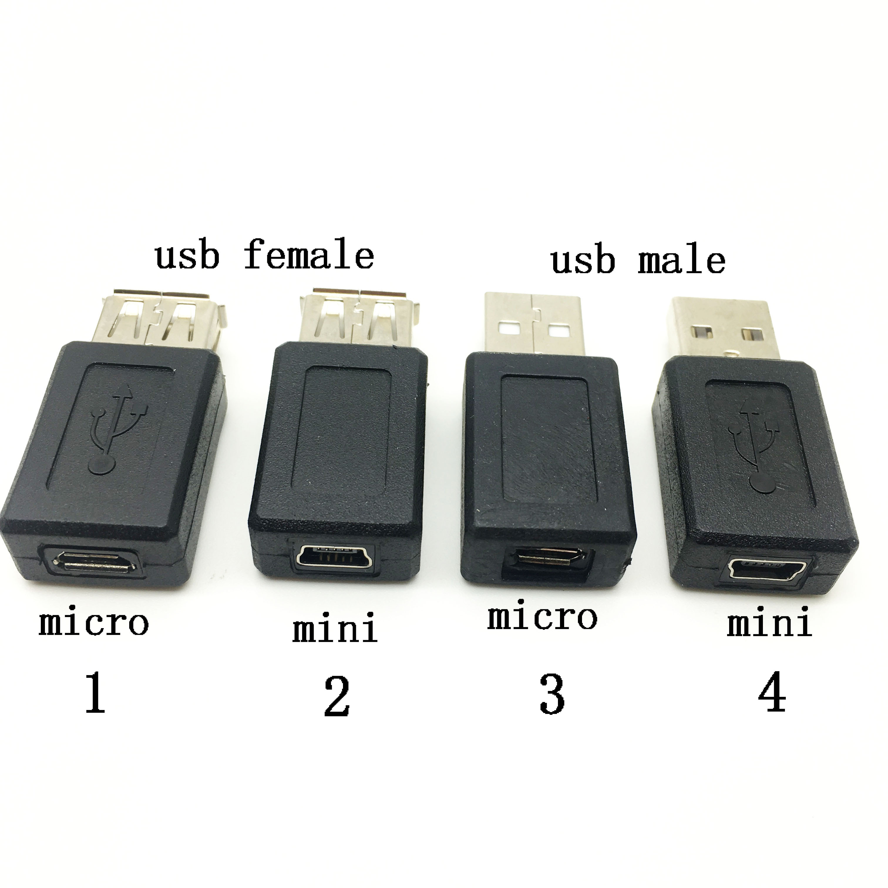 USB 2.0 A type female to mini usb 5pin Female extension adapter A to Mini B