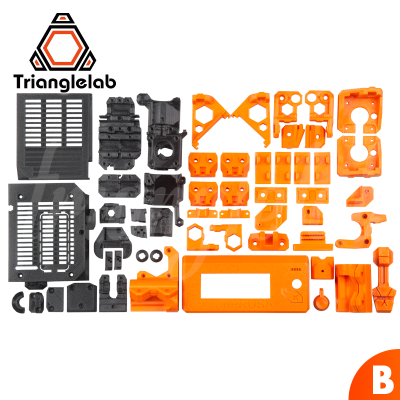 TriangleLAB PETG material full printed parts for DIY Prusa i3 MK3S bear upgrade 3D printer NOT