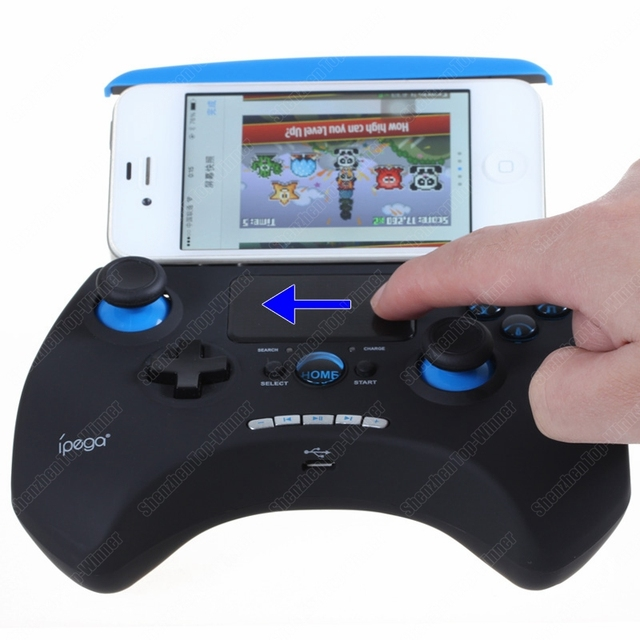 Orignal IPEGA Wireless Bluetooth Remote Controller boy Touch GamePad Touchpad Joystick for iPhone iPad Samsung HTC Android
