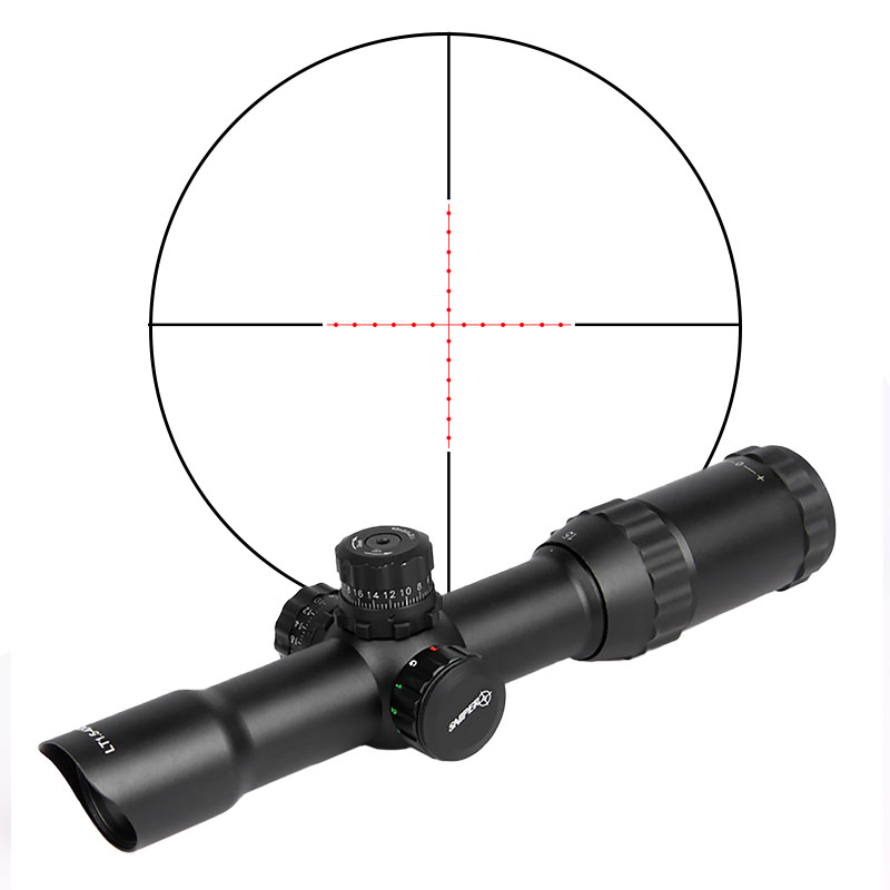 Tactical Military Airsoft 1.5-4x28 Rifle Scope for Hunting for Shooting CL1-0165B 1 5 4 28 rifle scope rifle scope shooting hunting pp1 0165