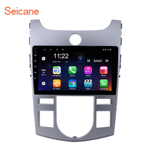 Seicane 9 inch Quad-Core Android 8.1 Car Radio Stereo Player GPS Navi for 2008 2009-2012 KIA Forte(AT) with HD 1024*600