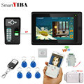SmartYIBA приложение дистанционное управление 7 дюймов монитор Wifi беспроводной видео телефон двери дверной звонок Домофон комплект отпечатков ...