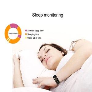 Image 3 - NAIKU F1Plus Bracelet intelligent couleur écran pression artérielle Fitness Tracker moniteur de fréquence cardiaque bande intelligente Sport pour Android IOS